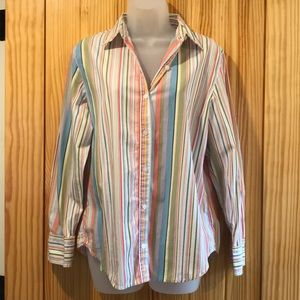 Jones of New York Multicolored Blouse